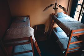 Hostel kamer interieur #1